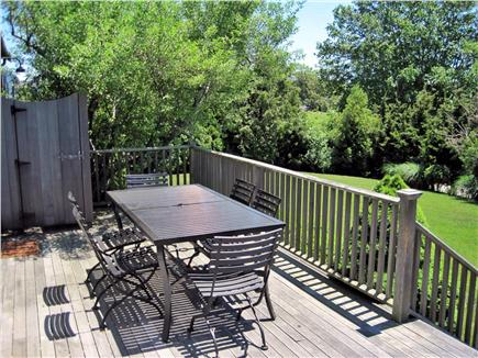 SURFSIDE Nantucket vacation rental - Toss a frisbee, enjoy an outdoor deck shower in total privacy