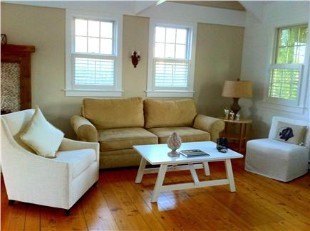 SURFSIDE Nantucket vacation rental - The sun shines all day long in the open, airy living room