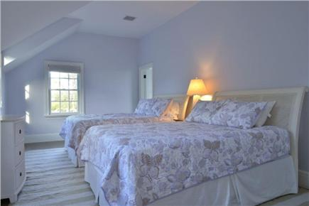 Nantucket town, Cliff Road Nantucket vacation rental - Girls room with two queen beds with own bathroom with two sinks