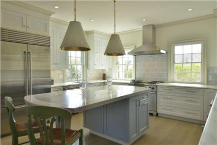 Nantucket town, Cliff Road Nantucket vacation rental - Kitchen with high end appiances