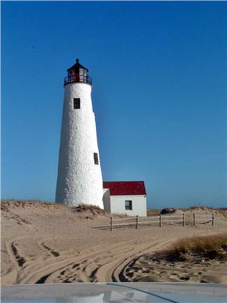 Mid-island, Naushop Nantucket vacation rental - Great Point, a trek out on the sand with 4WD