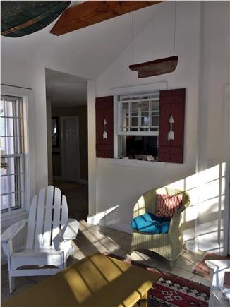 Mid-island, Naushop Nantucket vacation rental - Sun Room