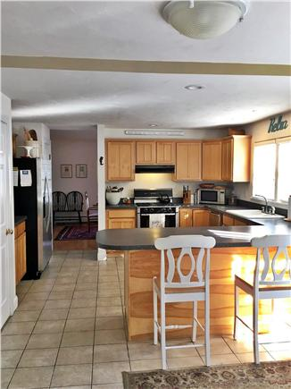 Mid-island, Naushop Nantucket vacation rental - Kitchen with Stainless appliances, gas stove