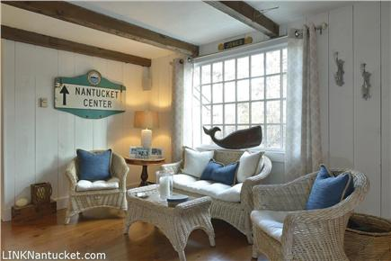 Cisco - Miacomet, Nantucket Nantucket vacation rental - This charming sitting room located across from main living room.