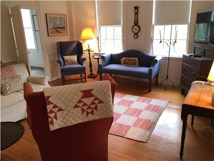 Nantucket Town Nantucket vacation rental - Living room with HD TV, WiFi & comfortable seating for 7-9 people