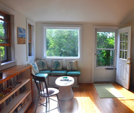 Surfside Nantucket vacation rental - The sun porch