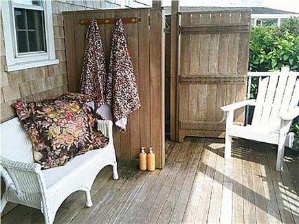 Siasconset Nantucket vacation rental - Outdoor Shower