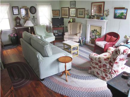 Nantucket town Nantucket vacation rental - Spacious living room with comfortable seating