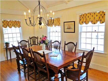 Nantucket town Nantucket vacation rental - Dining room -- table can seat 12