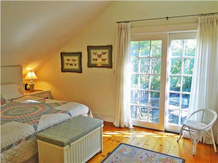 Nantucket town Nantucket vacation rental - Large King Bedroom with TV, ensuite bathroom