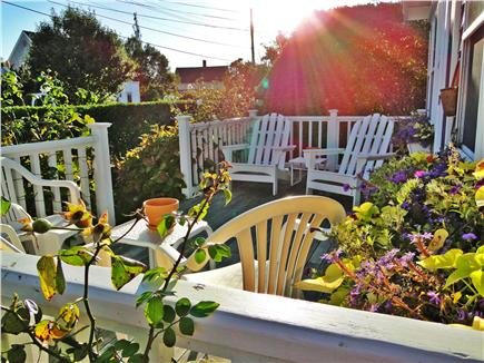 Brant Point Nantucket vacation rental - Front deck, perfect for morning coffee, afternoon drinks