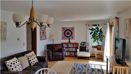 Surfside Nantucket Nantucket vacation rental - Looking into living room from dining room. Slider towards ocean.