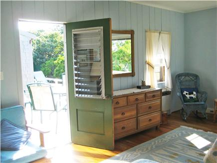 Madaket Nantucket vacation rental - Master  Bedroom to Deck