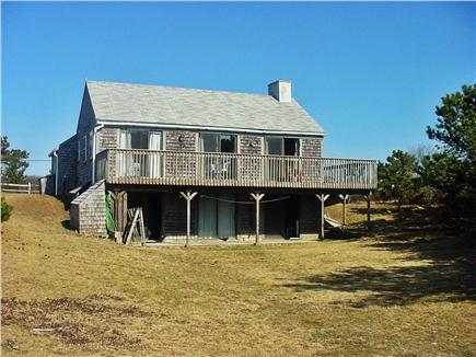 Madaket / Nantucket Nantucket vacation rental - Back of house