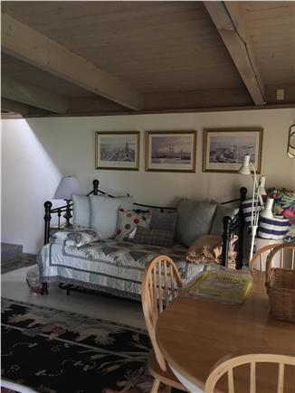 Madaket / Nantucket Nantucket vacation rental - Downstairs open area daybed