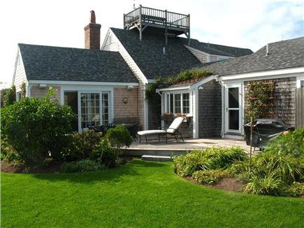 Tom Nevers East Nantucket vacation rental - Back of house from very private yard.