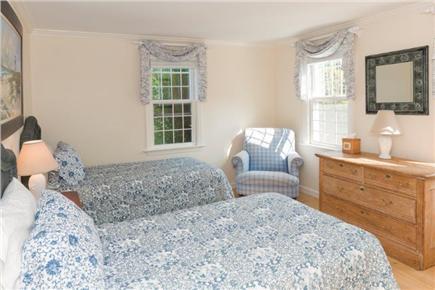 Tom Nevers East Nantucket vacation rental - Twin Bedroom... 1st Floor, cozy & bright with big walk-in closet.