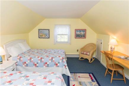 Tom Nevers East Nantucket vacation rental - Upstrs bdrm w/ 2 full beds...glimpse the beam from Sankaty Light