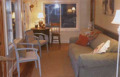 Surfside Nantucket Nantucket vacation rental - Comfortable seating on sunporch with wonderful water views